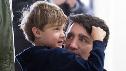 Justin Trudeau in home isolation: 'Daddy's on an important phone call'