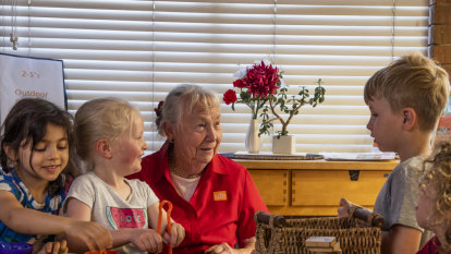 'I'll miss the children a lot': Peggy has worked at the same childcare centre since 1974
