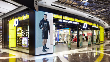 Scentre is relying on the growth of 'interactive' stores such as JD Sports.