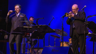 Dynamic duo: Kurt Elling, left, and James Morrison.