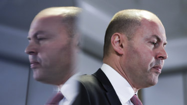 """Treasurer Josh Frydenberg: """"It [Westpac] will get through it and it will continue to play a vitally important role in our economy."""""""