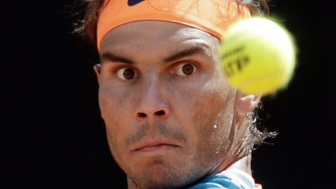 Rafael Nadal: Eyeing off another clay title.
