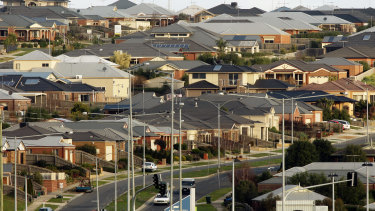 A declining Australian property market has taken the wind out of the economy's sails.