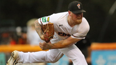 The Cavalry will fly star pitcher Steve Kent to Brisbane for game two on Saturday.
