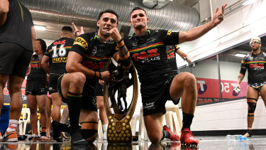 Nathan Cleary and Tyrone May will be interviewed by the NRL integrity unit.