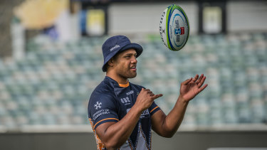 Rob Valetini has played just six Super Rugby games but is already considered a future Wallaby.