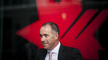 NAB chief executive Andrew Thorburn.