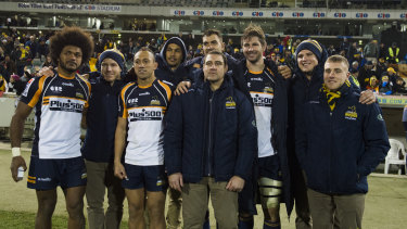 The Brumbies will farewell nine players if their season ends on Saturday.