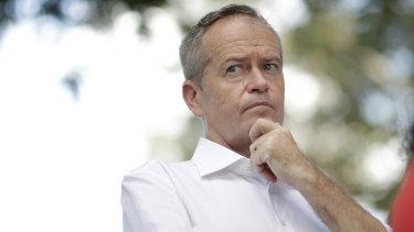 Opposition Leader Bill Shorten campaigning last week in Darwin.