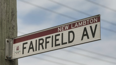 Police and emergency services were called to the home on Fairfield Avenue, New Lambton about 4.30am Saturday.