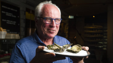 Owner of Moonlight Flat Oysters, Steve Feletti, believes oysters should only be shucked to order.