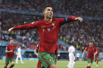 Ronaldo's double saw him become the most prolific men's scorer in international history.