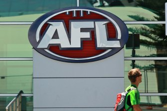 Staff numbers at the AFL and its clubs have been cut drastically.
