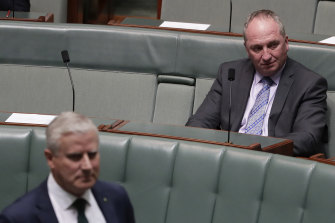 The rivalry between Nationals MP Barnaby Joyce and Deputy Prime Minister Michael McCormack could come to a head this week.