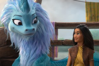 Raya and the Last Dragon sees Disney expand their princess universe to south-east Asia.