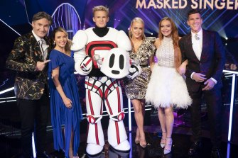 Cody Simpson was the winner of The Masked Singer.