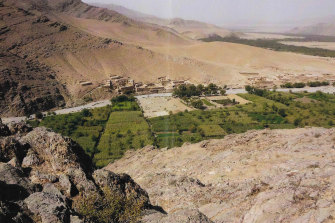 A picture of the village of Darwan, where Afghan witnesses have given evidence about the actions of Ben Roberts-Smith.
