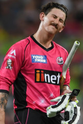 Nic Maddinson playing in the BBL.