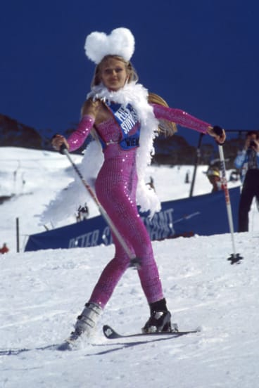 Ballet skiing was also part of freestyle skiing in the 1970s.