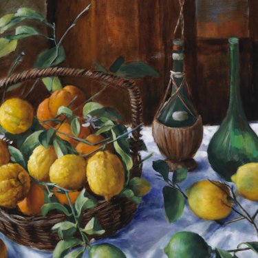 Lemons and Oranges (1964) by Margaret Olley.