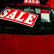 New car sales fell to their lowest level in eight years in July.