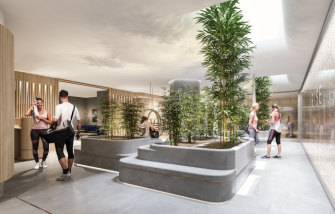 "101 Collins Street, Mebourne, will roll out a ""full service holistic wellness centre"" for its tenants."