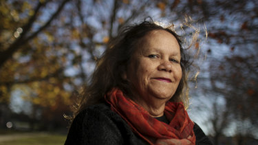 Aunty Munya Andrews who has written a book called Journey into Dreamtime. Photo: Alex Ellinghausen