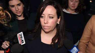 Kaila Murnain leaves the Independent Commission Against Corruption in August.