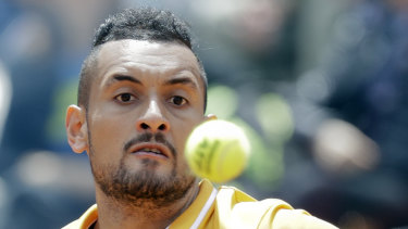 Nick Kyrgios has avoided a big name in the first round of the French Open.