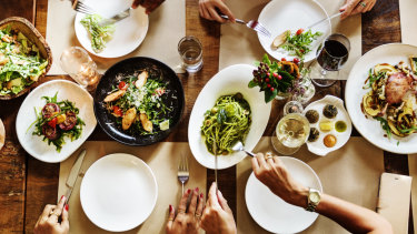 The first table of the night can be booked through the new platform, offering half price food.