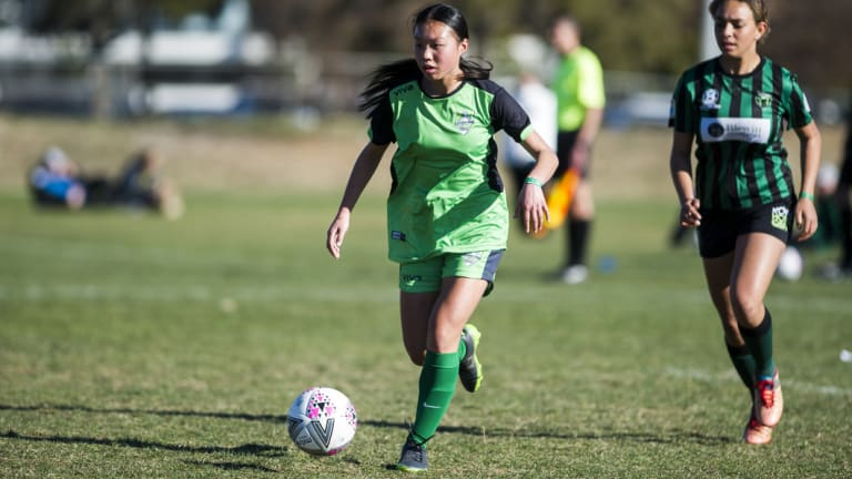 Canberra United Academy\'s Sharon Chao.