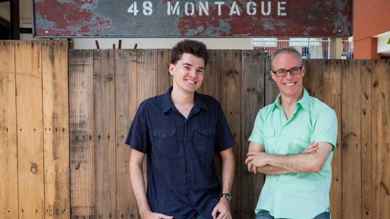 Co-founders of FunCaptcha, CEO Kevin Gosschalk and COO Matthew Ford.