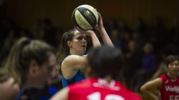 Keely Froling emerges as a Canberra Capitals leader