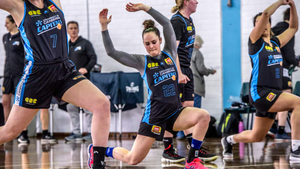 Kelly Wilson dreams big for the Canberra Capitals