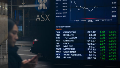 Local stocks near record high after RBA's dovish tone spurs investors