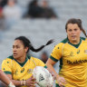 Black Ferns blast Wallaroos as women put on a show for limited numbers
