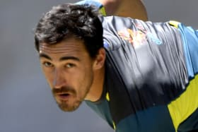 Inconsistent: Mitchell Starc needs to find his range in both innings in Perth.