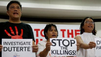 Philippines senator attacks Iceland over UN probe