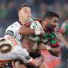 NRL 2020 as it happened: Souths survive late surge to sink Tigers