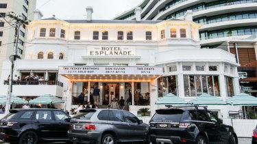 St Kilda's iconic Esplanade Hotel.