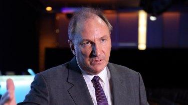 Telstra chairman John Mullen.