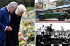Tiny guest list, Land Rover hearse and tense reunion: a royal funeral like no other