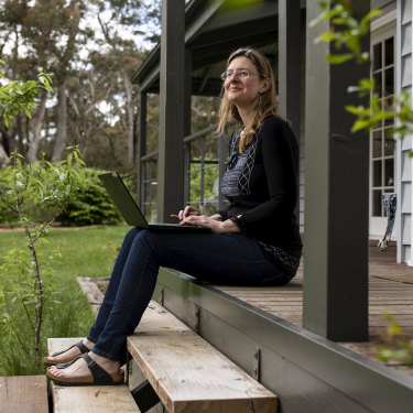 Jacinta Hanemann doesn't want to return to the office for work.