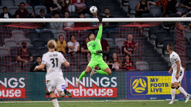 Adam Federici had a blinder on debut for Macarthur FC.