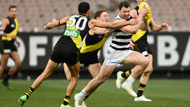 Patrick Dangerfield was a real standout for the Cats.