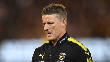 Tigers coach Damien Hardwick said there should be less rules, not more.