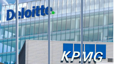 Former and current staff at KPMG and Deloitte have criticised cost cutting measures rushed through in April.