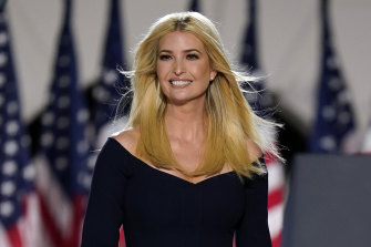 Associates of Ivanka Trump, pictured, say she will be contemplating how to maximise her political capital.