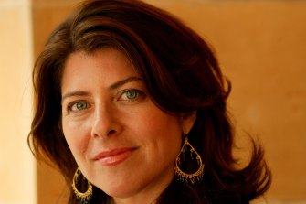 Prominent feminist author and journalist Naomi Wolf in 2017.