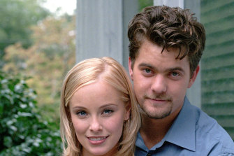"""Joshua Jackson is fondly remembered as Pacey in Dawson's Creek; """"When we were making it, it seemed like a very particular story, this small town."""""""